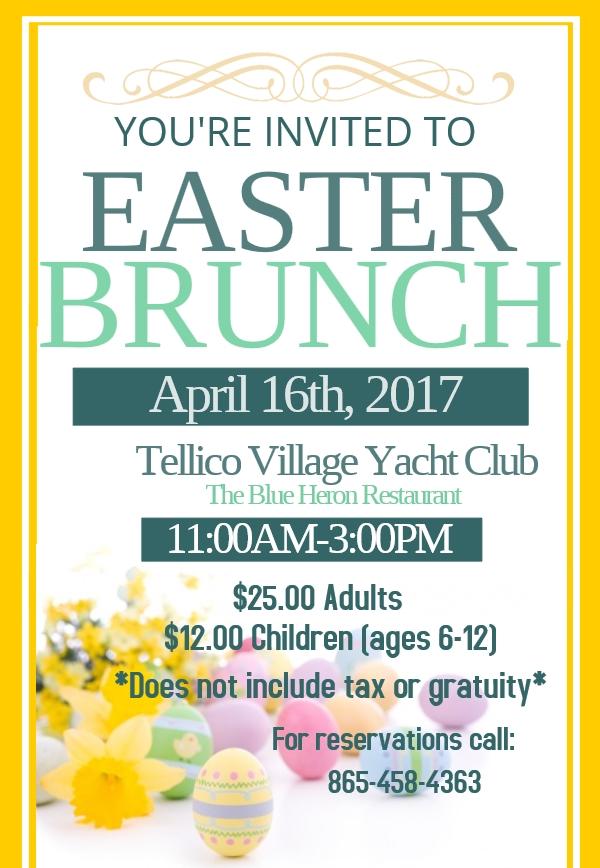 Easter Brunch 2017