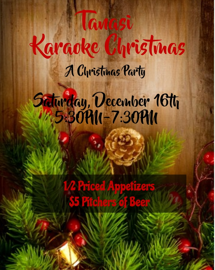 Tanasi Karaoke Christmas | Tellico Village Yacht Club