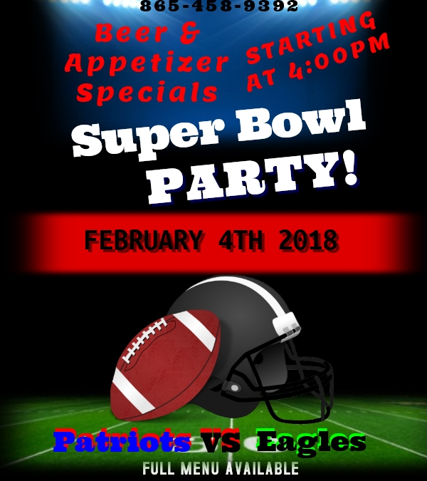 Super Bowl Party at Tanasi