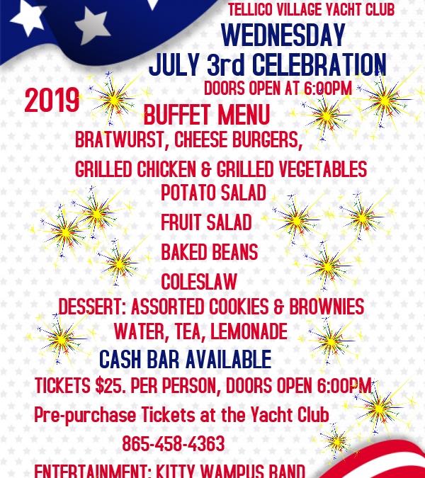 July 3rd Celebration